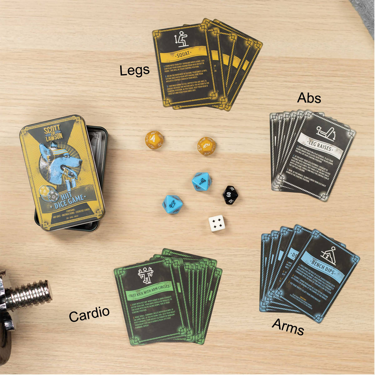 Paladone HIIT Exercise Dice Game