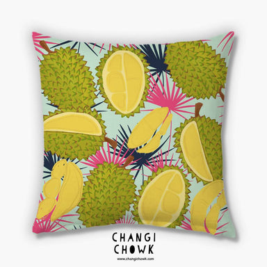 Cushion Cover - Durians Mint - Cushion Covers - Changi Chowk - Naiise