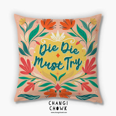 Cushion Cover - Singlish - Cushion Covers - Changi Chowk - Naiise