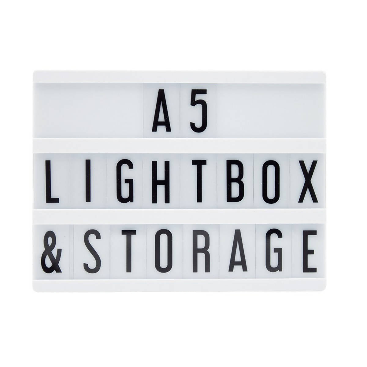Locomocean A5 Message Lightbox Black