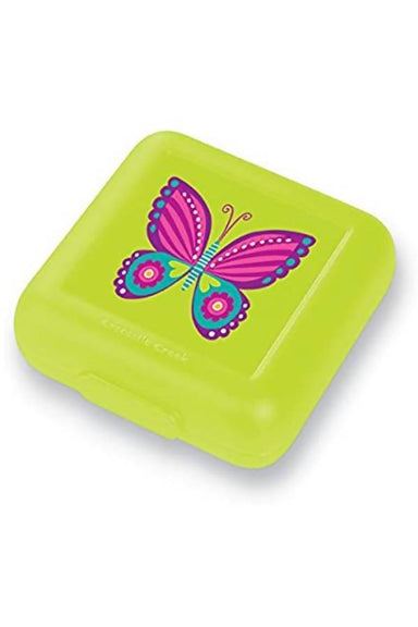 Crocodile Creek Sandwich Keepers - Pink Butterfly - Lunch Boxes - The Children's Showcase - Naiise
