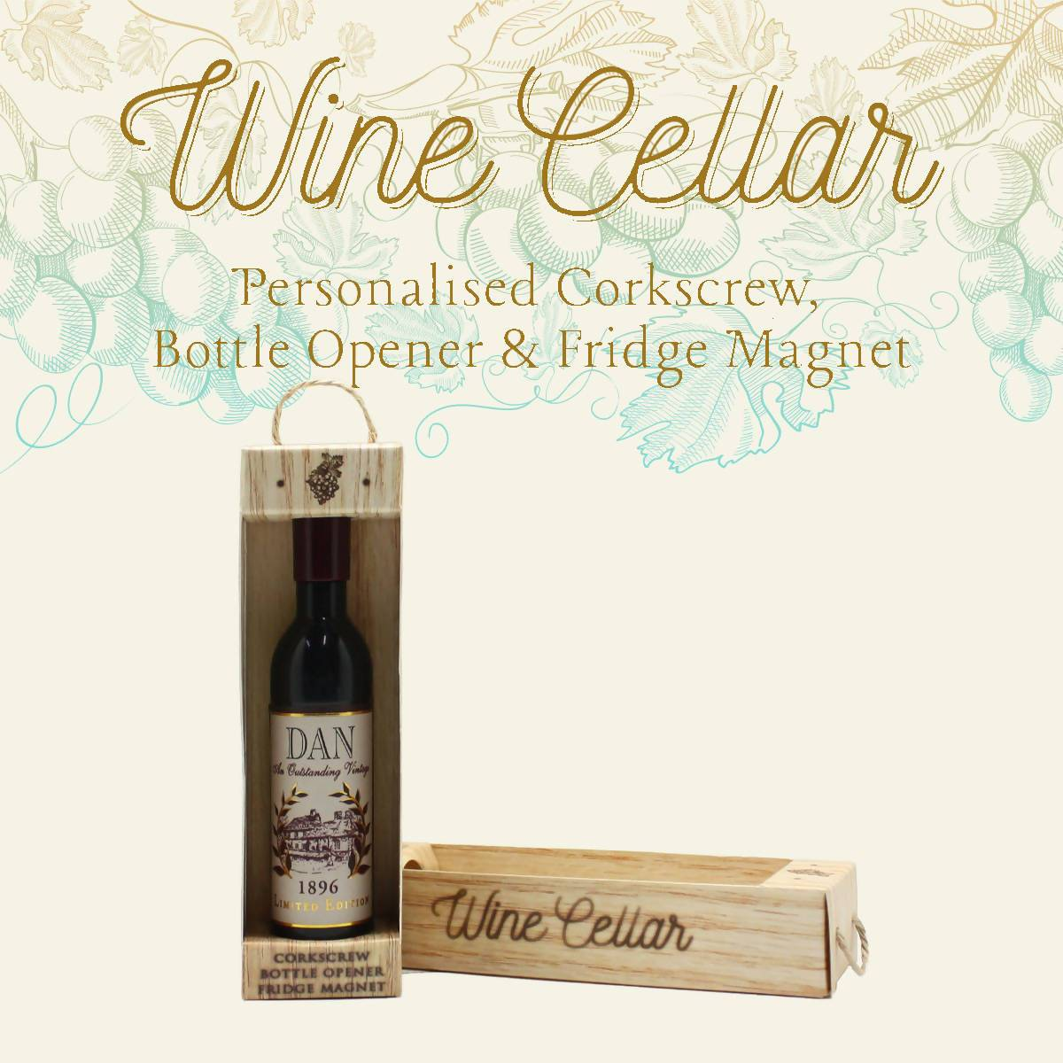 WINE CELLAR - For Wine Lover : Dan - Bottle Openers - La Belle Collection - Naiise