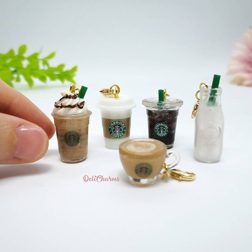 Miniature Takeaway Coffee Charm - Charms - Deli Charms - Naiise