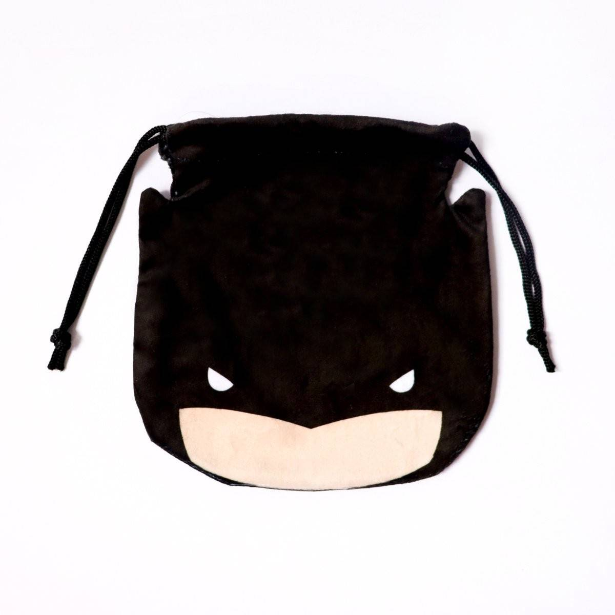 Batman Drawstring Pouch - Pouches - Ok Can Lah - Naiise