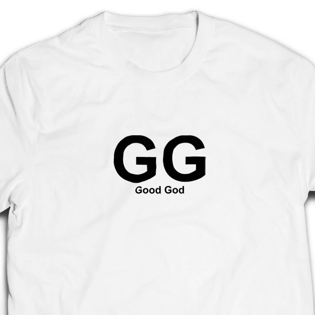 GG Tshirt Unisex (White) - I'm a Singaporean Christian Lah! Series - Local T-shirts - The Super Blessed - Naiise