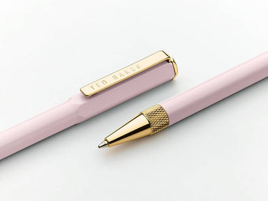 Ted Baker - Premium Ballpoint Pen Pink - Stationery - The Planet Collection - Naiise
