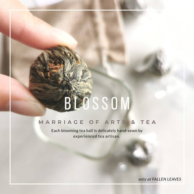 BLOSSOM le Blooming Tea - Teas - Fallen Leaves - Naiise