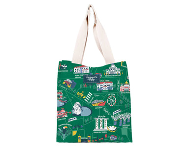 SG Icon Map Shopping Bag Local Tote Bags Chalo