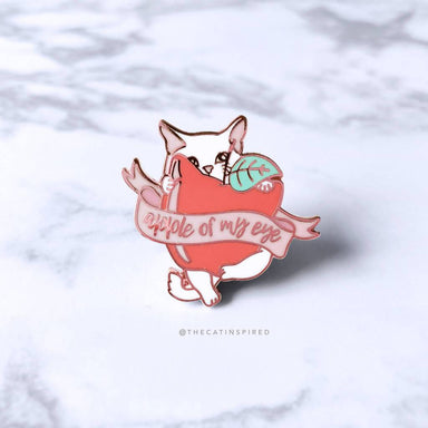 Apple of My Eye Cat Pin - Brooches - The Cat Inspired - Naiise