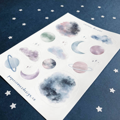 Cosmic Dreams | Sticker Sheet - Stickers - Papercranes Design - Naiise