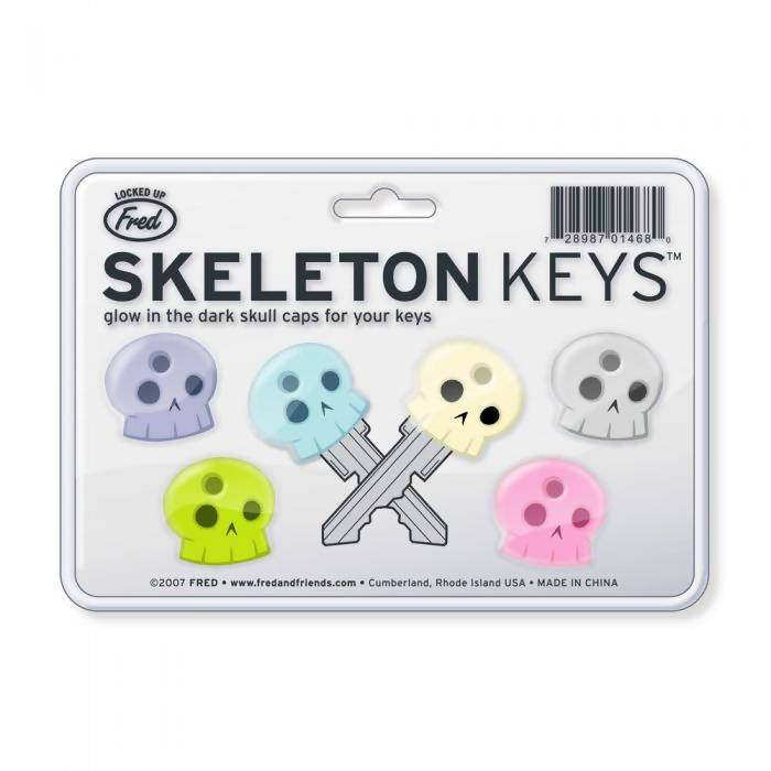 Fred Skeleton Key Holders - Key Holders - The Planet Collection - Naiise