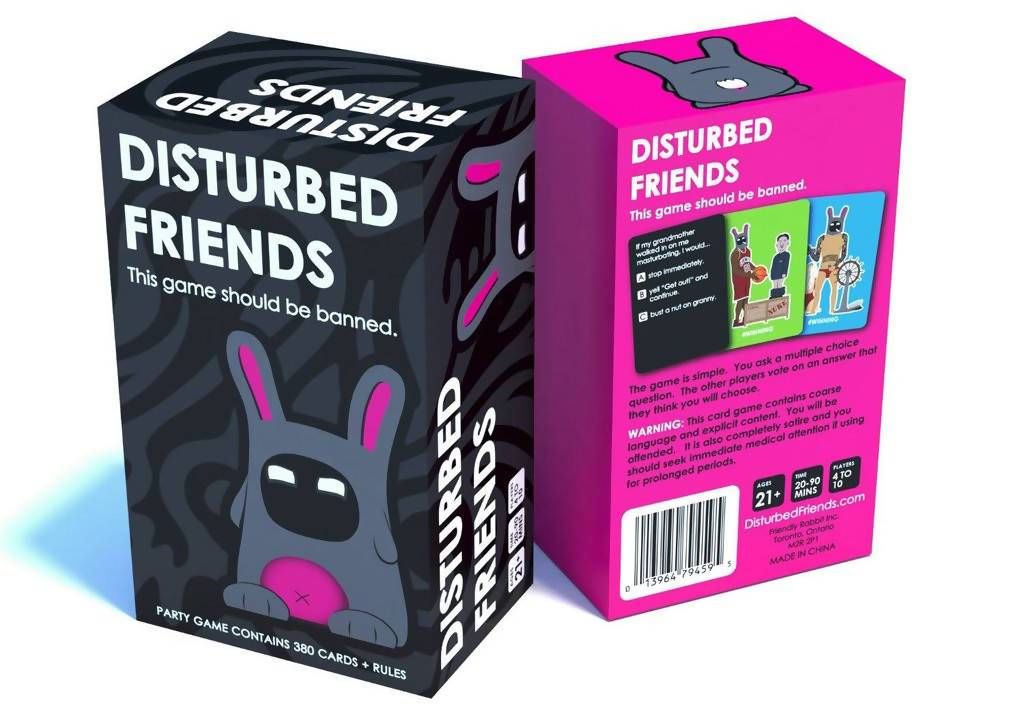 Disturbed Friends Card Game - Card Games - Allink Int Pte Ltd - Naiise