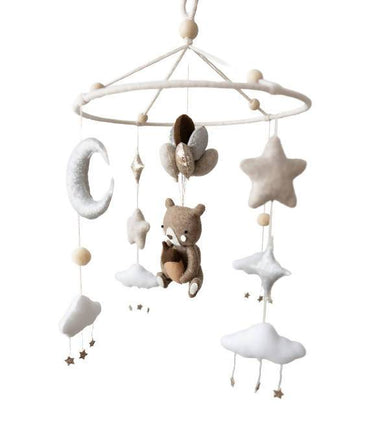 Teddy's Dream Crib Mobile Nursery Décor Little Happy Haus