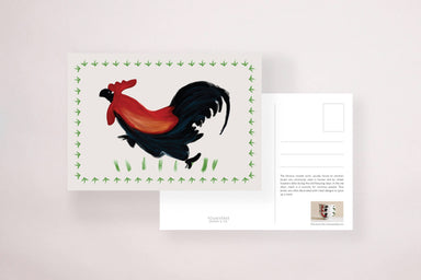 Rooster Bowl Postcard - Local Postcards - YOUNIVERSE DESIGN - Naiise