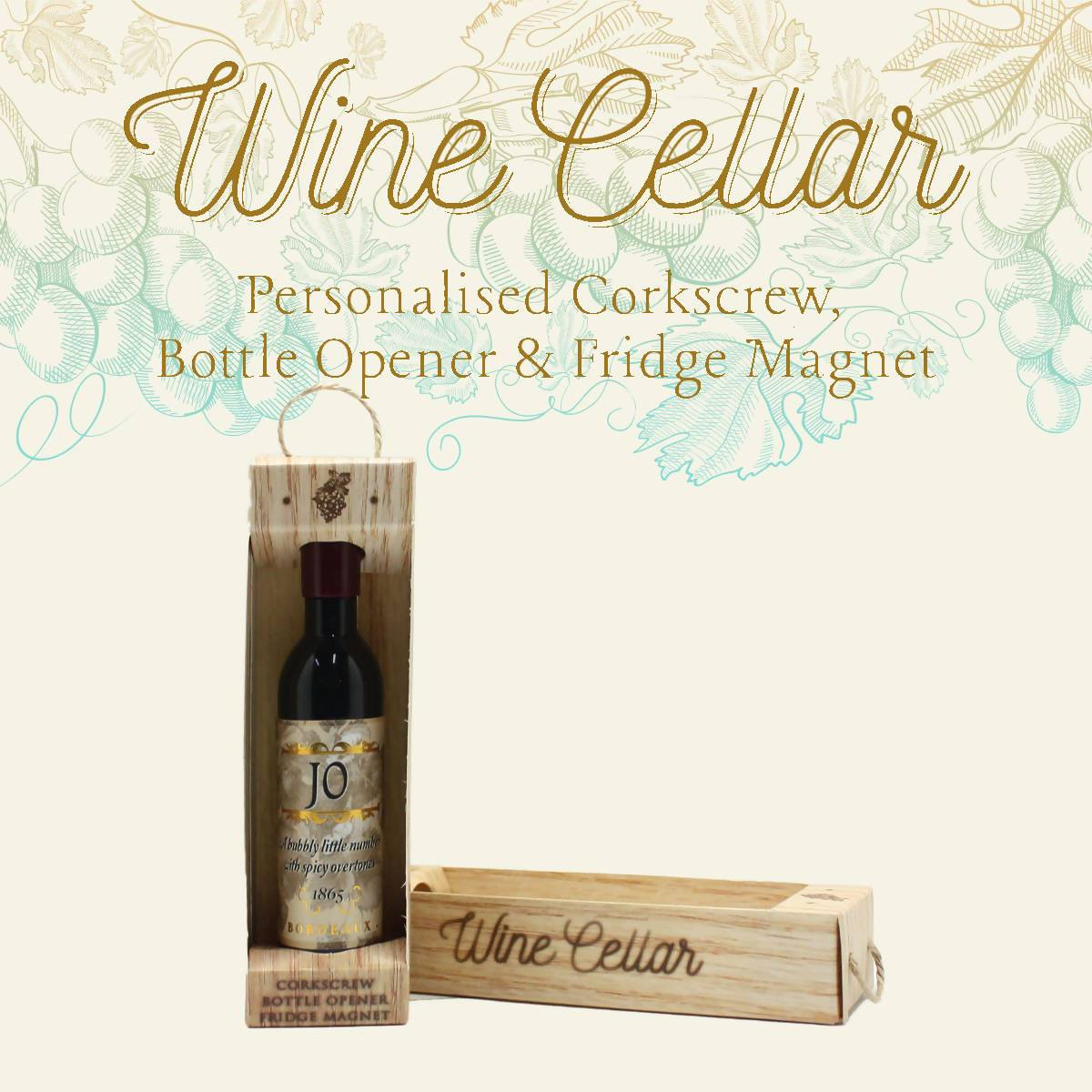 WINE CELLAR - For Wine Lover : Jo - Bottle Openers - La Belle Collection - Naiise