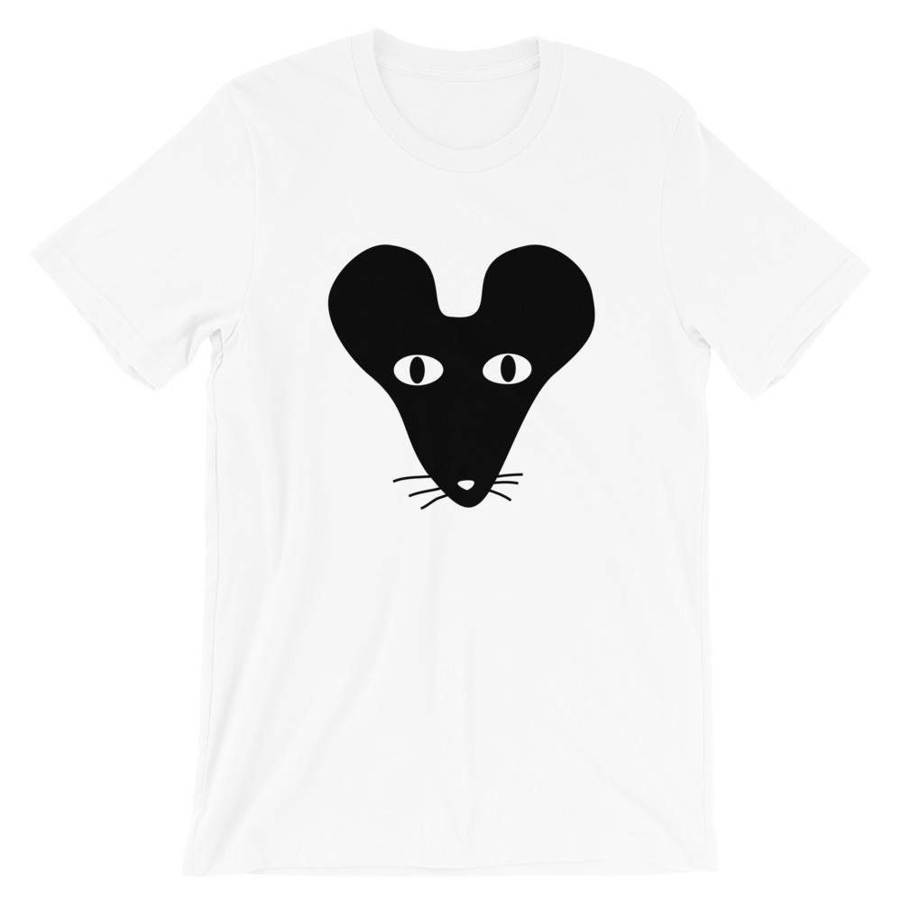 Black Faced Rat Kids Crew Neck S-Sleeve T-shirt - Kids Clothing - Wet Tee Shirt / Uncle Ahn T / Heng Tee Shirt / KaoBeiKing - Naiise