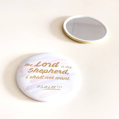 The Lord is My Shepherd Pocket Mirror - Mirrors - The Super Blessed - Naiise
