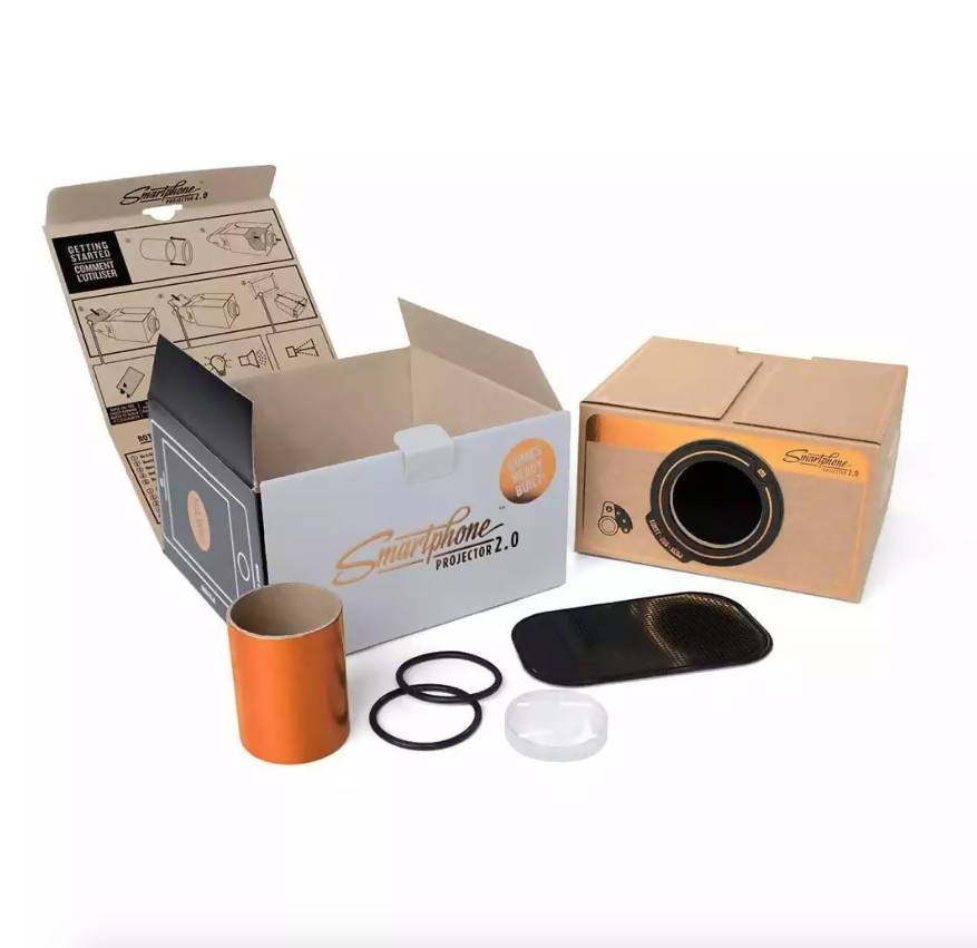 Suck UK Smartphone Projector V2 Projectors The Planet Collection