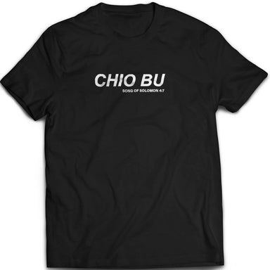 Chio Bu Tshirt Unisex (Black) - I'm a Singaporean Christian Lah! Series - Local T-shirts - The Super Blessed - Naiise