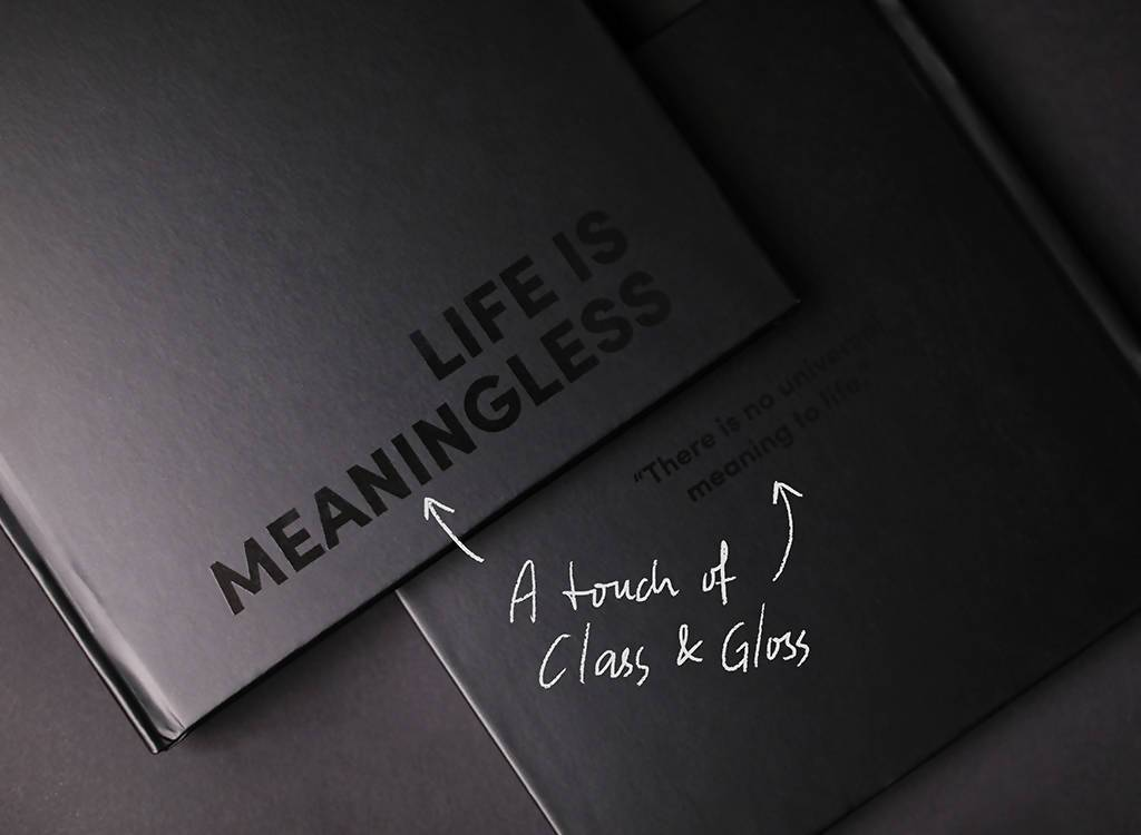 Life Is Meaningless - Non-fiction Books - memellennial.com - Naiise