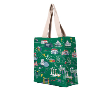 SG Icon Map Shopping Bag - Local Tote Bags - Chalo - Naiise