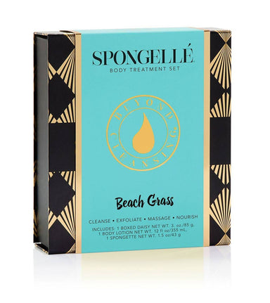 Boxed Flower Gift Set | Beach Grass - Gift Sets - Spongellé - Naiise