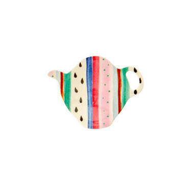 Melamine Tea Bag Plate. 'Believe in Red Lipstick' Prints Kitchenware The Children's Showcase