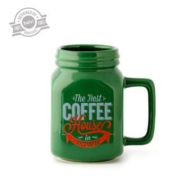 Balvi - Mason Mug Green - Mugs - The Planet Collection - Naiise