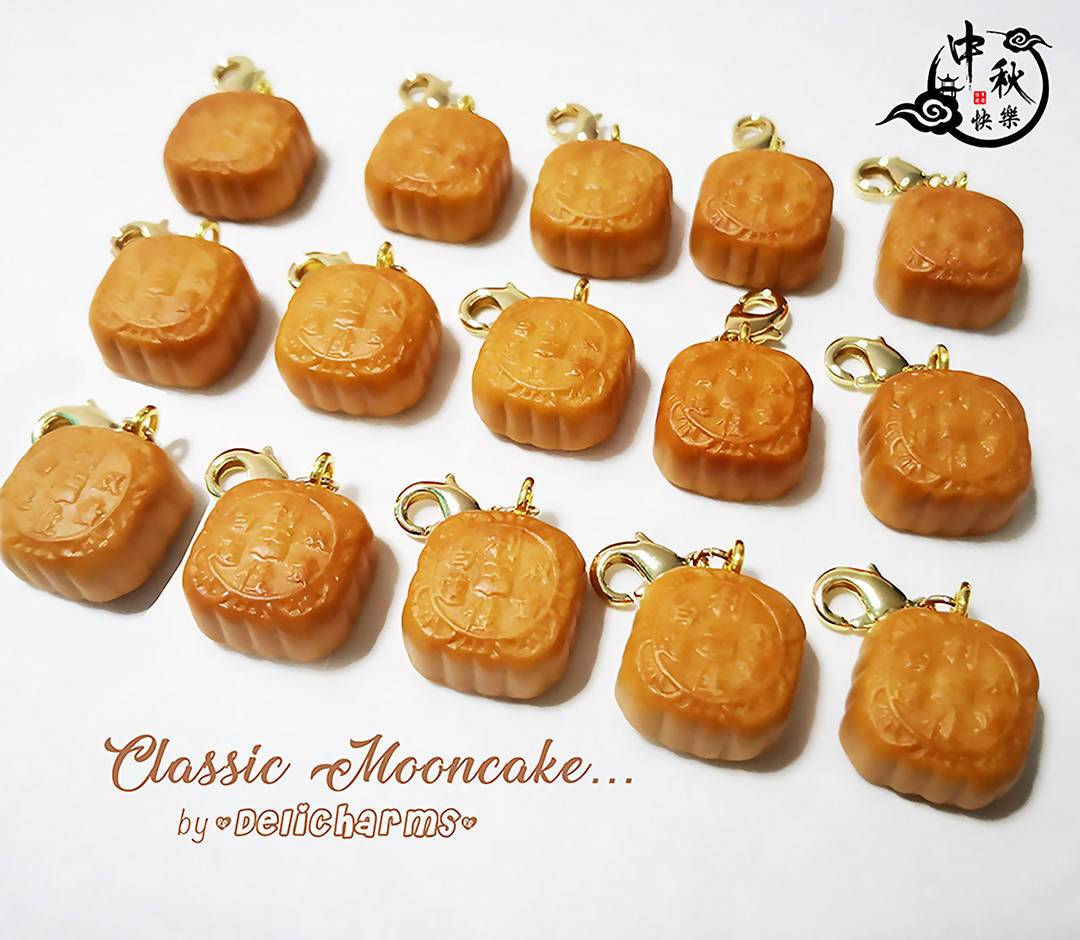 Miniature Mooncakes Charms - Charms - Deli Charms - Naiise