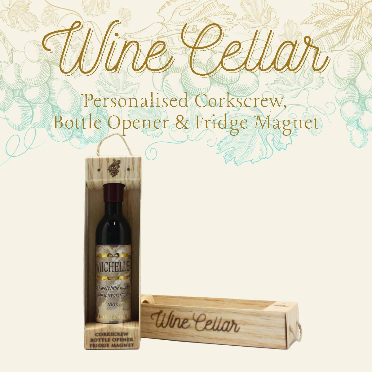 WINE CELLAR - For Wine Lover : Michelle - Bottle Openers - La Belle Collection - Naiise
