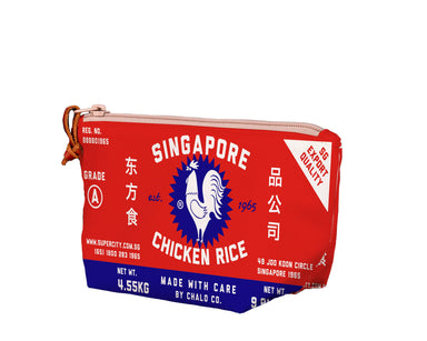 SG Chicken Rice Medium Pouch - Local Pouches - Chalo - Naiise