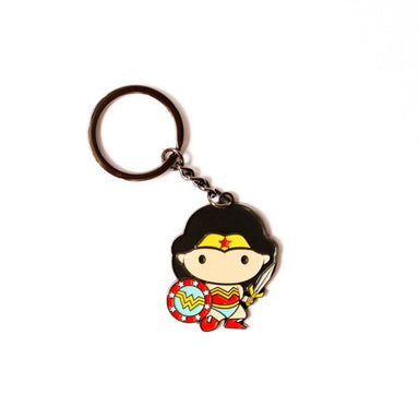 Wonder Woman Enamel Keychain - Keychains - Ok Can Lah - Naiise