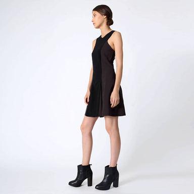 Stiles Asymmetric Neckline Dress in Anchor Dresses Salient Label