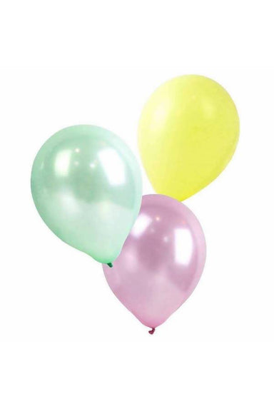PASTEL BALLOONS 12 INCH, 16PK PARTYWARE The Children's Showcase