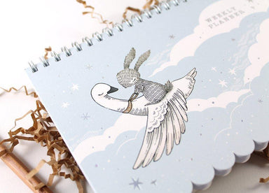 WW-WP#2 Weekly Planner - Rabbit & Swan - Planners - Naiise - Naiise