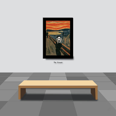 The Scream Print - Prints - Chaps V8.2 - Naiise