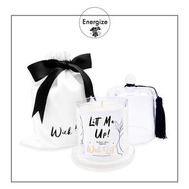 Litt Me Up! Candle - Scented Candles - Wick & Litt - Naiise