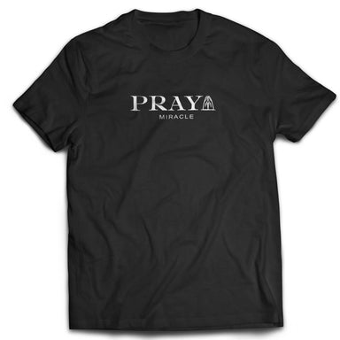 PRAY Unisex Tshirt (Black) - Women's T-shirts - The Super Blessed - Naiise