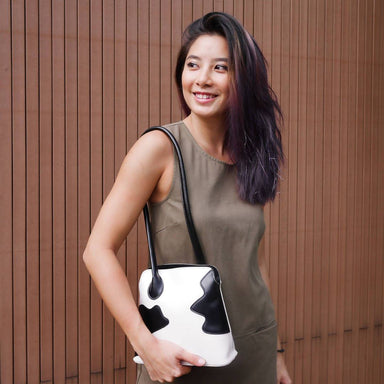 Over the Moo-n Abstract Cow Patch bag Women Bags Colorfull Store