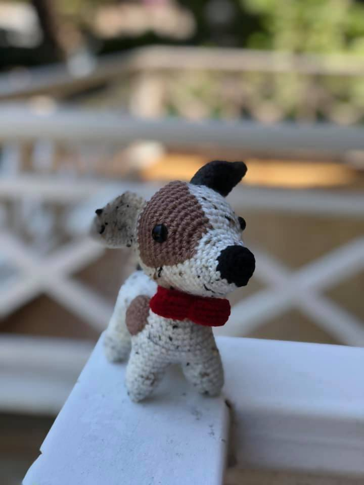 Juju the Jack Russell - Hand-knitted Stuffed Toy - Stuffed Toys - Animal Forest - Naiise