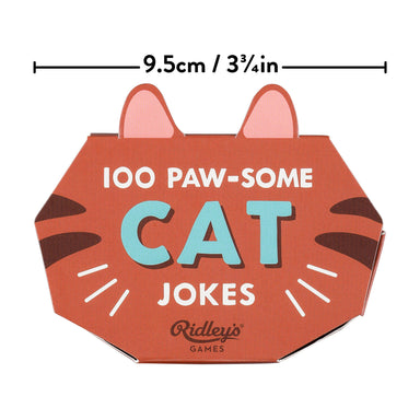 Ridley's 100 Cat Jokes - Card Games - The Planet Collection - Naiise