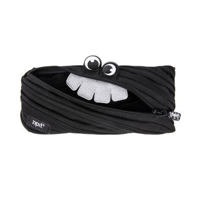 Zipit Party Monster Pouch Black - Pencil Cases - Zigzagme - Naiise