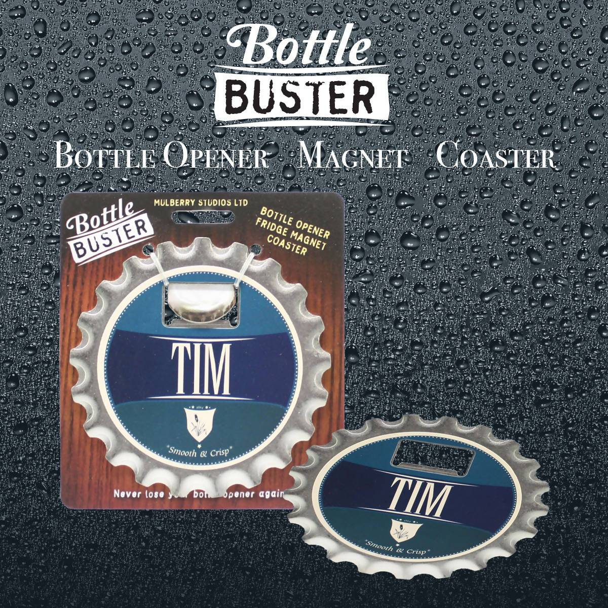 BOTTLE BUSTER - Best Bottle Opener : Tim - Bottle Openers - La Belle Collection - Naiise