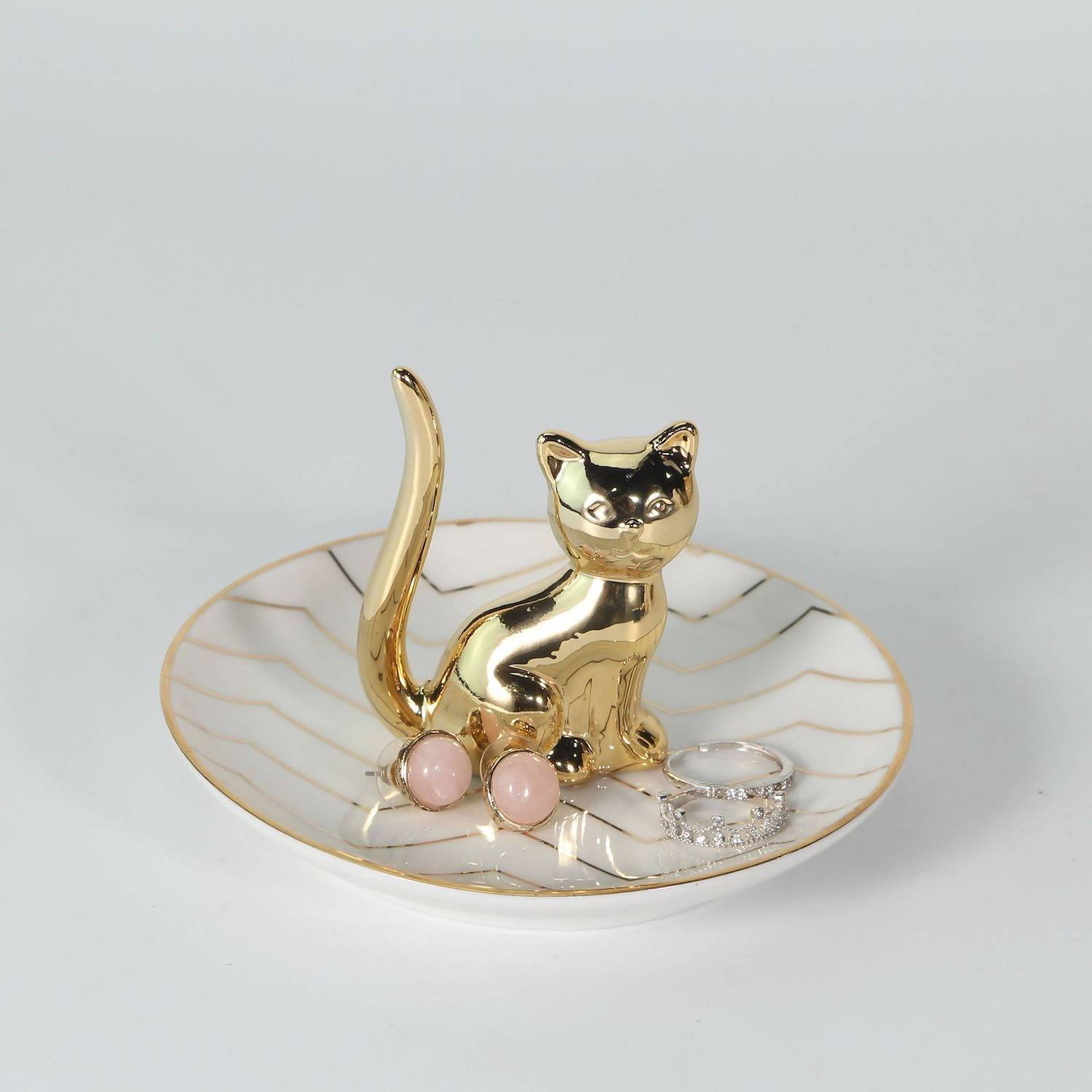 Cat Ring Holder - Jewellery Holders - The Planet Collection - Naiise