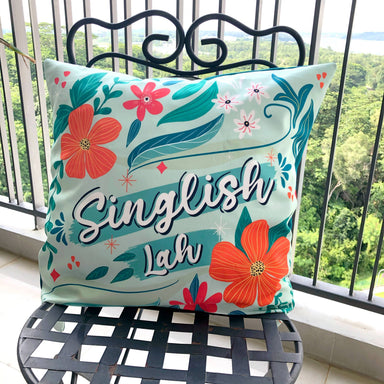 Cushion Cover - Singlish Lah - Local Cushion Covers - Changi Chowk - Naiise