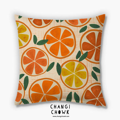 Cushion Cover - Orange Slices - Cushion Covers - Changi Chowk - Naiise