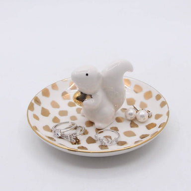 Squirrel Ring Holder - Jewellery Holders - The Planet Collection - Naiise