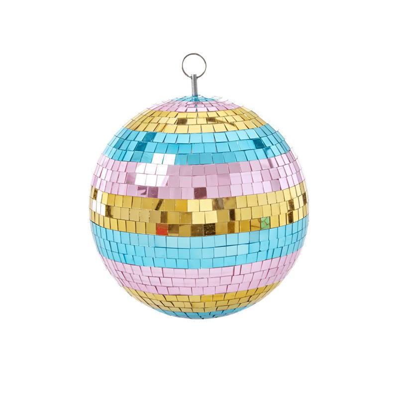 Disco Ball with Stripes - 25 cm. - Home Decor - The Children's Showcase - Naiise