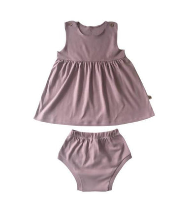 Sleeveless Dress and Bloomers (Organic Cotton) - Kids Clothing - Little Happy Haus - Naiise