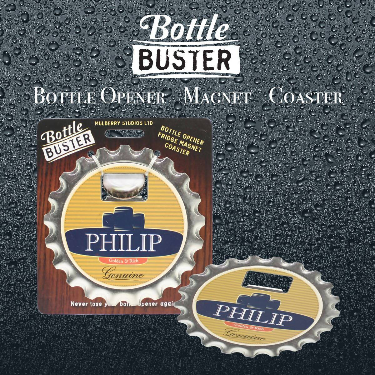 BOTTLE BUSTER - Best Bottle Opener : Phillip - Bottle Openers - La Belle Collection - Naiise